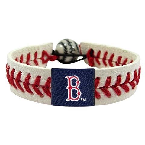 Boston Rot Sox Baseball Bracelet - klassisch Art