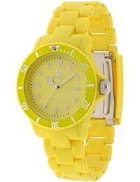 Marea Dau B40106/6 - Reloj de mujer de cuarzo, correa de caucho color amarillo