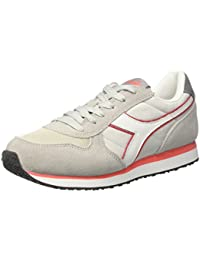 Diadora, Donna, Malone W, Pelle / Mesh, Sneakers, Bianco, 36.5 EU