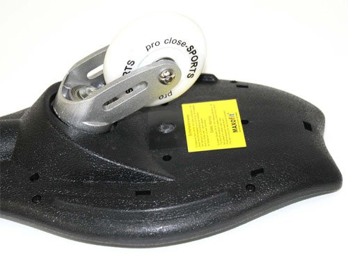 MAXOfit Waveboard DELUXE Pro Close XL NEW WAVE bis 100 kg, mit Tasche -