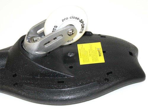 Waveboard Original MAKROfit DELUXE XL PRO Close Style PAINT, bis 100 kg, mit Tasche und ABEC 7 Lagern -