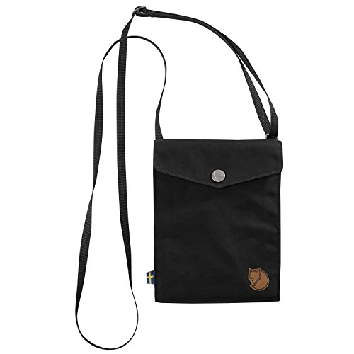 Preisvergleich Produktbild Fjällräven Minitasche Pocket, Black, 14 x 3 x 18 cm, 0.5 Liter, 24221-550