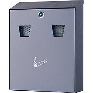 Zigaretteneimer und Sammelbox aus Stahl