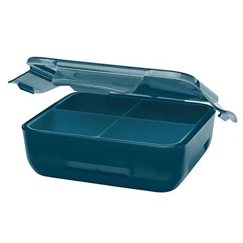 Aladdin 32404 Boîte repas isotherme pour enfant avec coussinet réfrigérant Bleu marine
