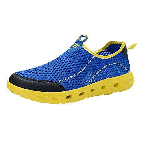 MDenker-Stiefel Herren Outdoor Fitnessschuhe Atmungsaktive Mesh Schuhe Sport Atmungsaktive...
