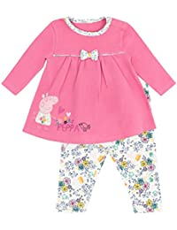 Peppa Pig Baby Girls Dress Set Ages 0 to 18 Months