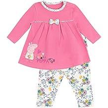 Peppa Pig - Conjunto de vestido para niñas Bebés - Peppa Pig