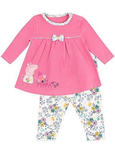 Peppa Wutz Baby Mädchen Kleid-Set -