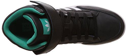 adidas Herren Varial Mid Skaterschuhe Black (Negbas / Ftwbla / Menimp)