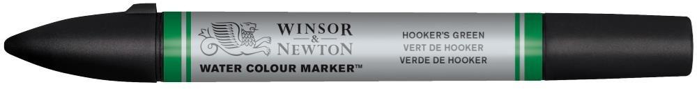 Winsor & Newton Watercolour Markers - Hooker's Green (Series 1)
