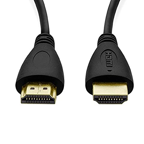 Y-ouni Câble HDMI 2.0 Haut Débit Compatible Ethernet / Ultra HD 4K 2160p / 3D / Full HD 1080p / Retour Audio 1,5 m