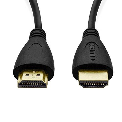 Y-ouni Câble HDMI 2.0 Haut Débit Compatible Ethernet / Ultra HD 4K 2160p / 3D / Full HD 1080p / Retour Audio 1,5 m