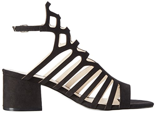 Another Pair of Shoes Saskiae1, Sandali con Zeppa Donna Nero (Black01)