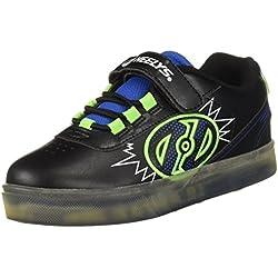 Heelys X2, Chaussures de Fitness Mixte Enfant, Multicolore (Black/Blue/Green 000), 33 EU