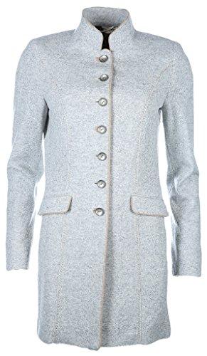 White Label Damen Mantel Größe 40 Braun (taupe)