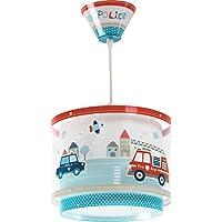 Police 60612 - Lámpara colgantePolicías y bomberos, E27, Clase de eficiencia energética A++ a C
