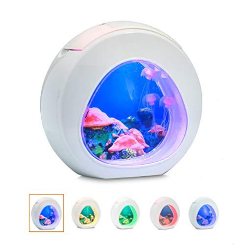WYSDD Lámpara De Medusas LED Tanque De Medusas Eléctrico