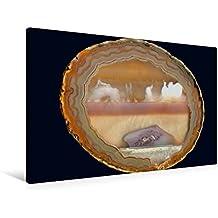Premium Textil-Leinwand 90 cm x 60 cm quer, Ein Motiv aus dem Kalender Achate - natürlich schön | Wandbild, Bild auf Keilrahmen, Fertigbild auf echter Leinwand, Leinwanddruck (CALVENDO Natur)