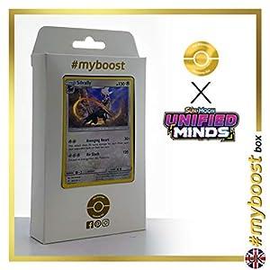 Silvally 184/236 Holo - #myboost X Sun & Moon 11 Unified Minds - Box de 10 cartas Pokémon Inglesas