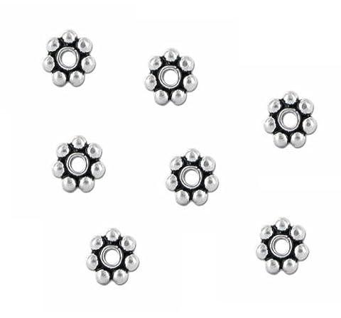 Hidden Hollow Beads 1 X Wb-Bali 5mm 100 Sterling Silver
