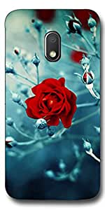 FROST IMAGES High Quality Silicon Printed Designer Back Cover for Motorola Moto G4 Play