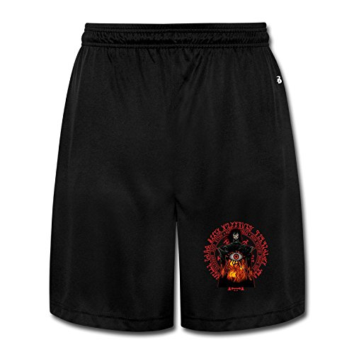 Hellsing Performance Shorts Sweatpants Man 's Schweiß pantscool, Herren, schwarz (Sweat Shorts Zwei)