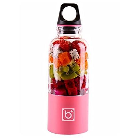 Mini USB Aufladung Elektrische Portable Juicer Cup Automatische Mini Früchte
