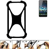 K-S-Trade Pare-Chocs pour ZTE Nubia Z7 Max Silicone Bumper Téléphone Portable...