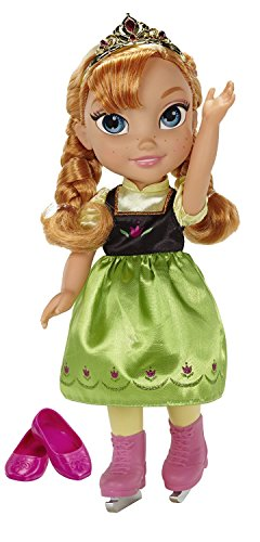 Disney Frozen Anna with Ice Skating Fashions and Skates Roleplay Set