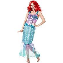 Rubie's Official Disney Princess Little Mermaid Ariel Adult Ladies Costume - UK Ladies size