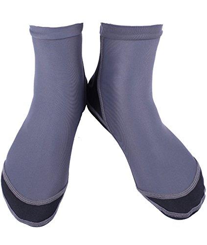 cokar agua calcetines para snorkeling corte alto antideslizante elást