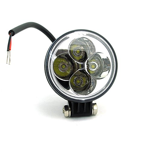 WINGONEER 15W 8V-48V DC Moto ha portato la luce elettrica fari delle automobili LED fari 15W motociclo Retrofit lampada
