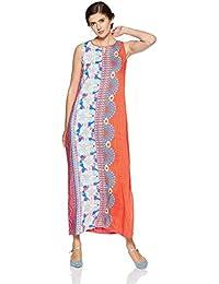 global desi Women's A-Line Maxi Dress