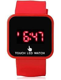 Cewaal Reloj de pantalla táctil LED Deportes al aire libre Reloj digital inteligente para niños