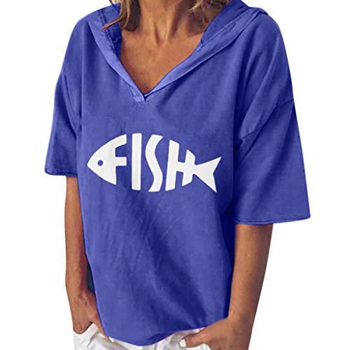 GOKOMO Damen Sport Fitness T-Shirt Kurzarm V-Ausschnitt Laufshirt Shortsleeve Yoga Top -