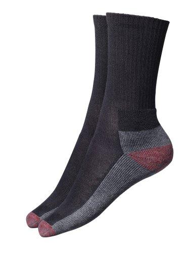 Cushion Crew Socke Arbeit (Dickies Cushion-Crew Socken (5pk) Arbeits Herren)