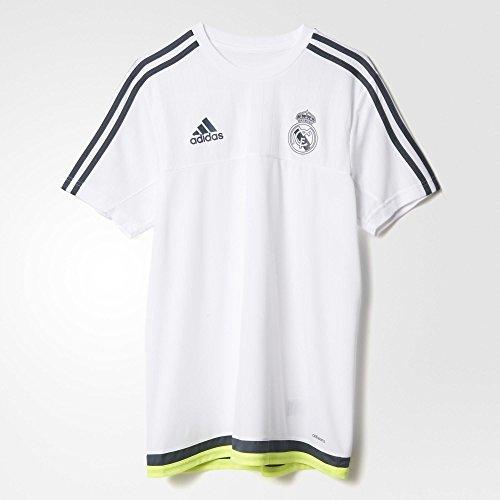Adidas Real Madrid réplique FC Training Jersey, Mixte Adulte, S88957, Blanc, XXL