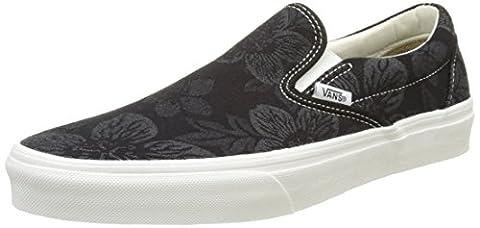 Vans Herren Ua Classic Slip-On Sneaker, Schwarz (Floral Jacquard Black/Blanc