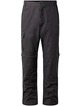 Craghoppers Mens C65 Polyester Convertible Zip Off Trousers Shorts