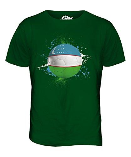 CandyMix Usbekistan Fußball Herren T Shirt Flaschengrün