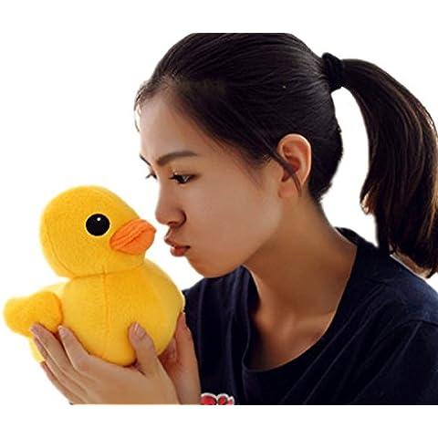DIS gigante Pato Amarillo de peluche plush Toys forma de pato, Amarillo, 30 cm