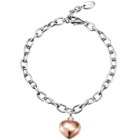 Esprit Jewels Damen-Armband 925 Authentic Silber Shades of love rose app.18+2cm ESBR91496B180