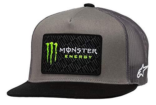 Alpinestars Monster Champ Trucker Tapa, Unisex Adulto, Gris/Negro, Talla única