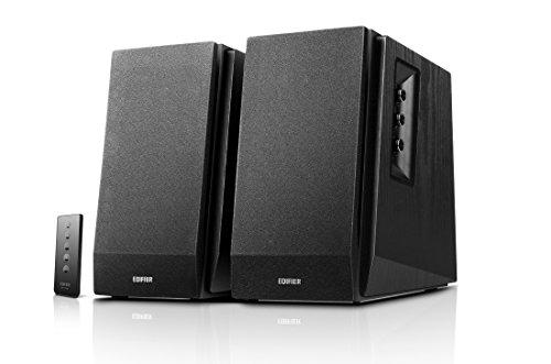 Edifier R1700BT BK Lautsprechersystem (66W) für TV/PC/Notebook/Tablet/Smartphone schwarz