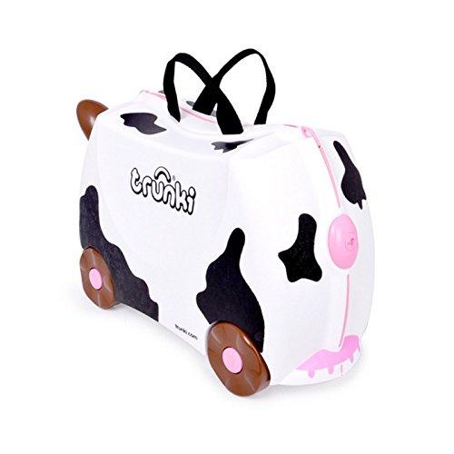 Trunki Ride-on Suitcase: Frieda the Cow (Black & White)