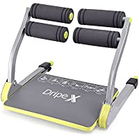 Dripex 6 in 1 Core Smart Total Body Exercise Machine Abdominal Ab Toning Workout Fitness Trainer Home Gym Equipment