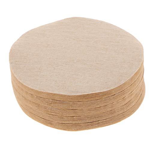 KESOTO 100x Kaffeefilterpapier Home Kitchen Wegwerf Filterpapier Für Lab Filtration