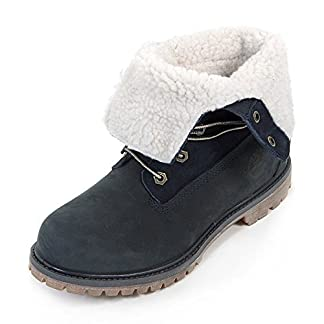 Timberland Authentics Teddy Fleece Water Proof Fold Down, Women's Boots 14