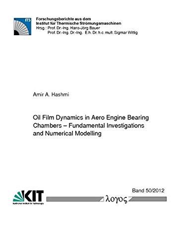 Oil Film Dynamics in Aero Engine Bearing Chambers: Fundamental Investigations and Numerical Modelling (Forschungsberichte aus dem Institut für Thermische Strömungsmaschinen)