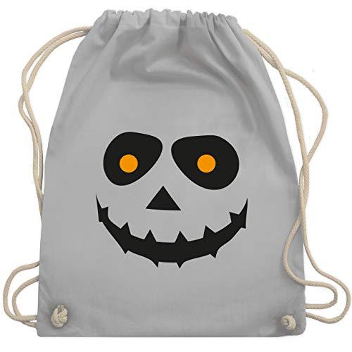 Halloween - Gruseliges Gesicht Fasching - Unisize - Hellgrau - WM110 - Turnbeutel & Gym Bag